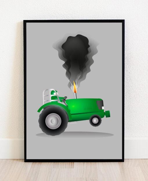 Traktortræk